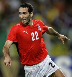 Mohamed Abouetrika, Egyptian footballer who plays as a striker for Al-Ahly (Egypt) and for Egyptian National Team.