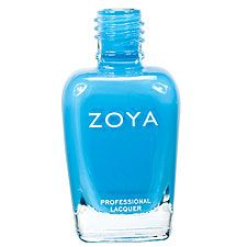 Zoya Nail Polish in Robyn - perfect turquoise cream