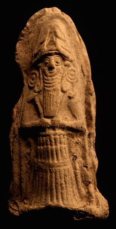 Old Babylonian Standing God Mesopotamia; Old Babylonian Period, 1800-1600 BC