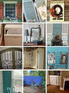 All the cool things that can be made from shutters!