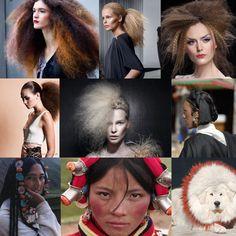 Tibetan influences for creative hair
