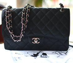 Chanel Jumbo Double Flap Caviar