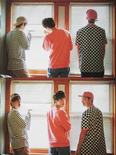 V, Jin & Rap Mon ♡❤