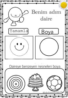 Kindergarten Activities, Pre School, Printables, Symbols, How To Plan, Math, Comics, Geometric Fashion, Early Education
