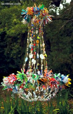 Magpie Chandeliers – Created from Recycled Objects – So Bohemian, So Creative!