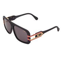e05164afe1 Cazal Sunglasses 658 Col. 11 Black Red Gold Frame Grey Lens  Cazal  Sport