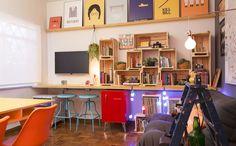 Inspire-se na decoração feita por Rosenbaum em um home office compartilhado - Casa - GNT