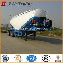 Air Compressor 3 Axles 40CBM Cement Truck Powder Semi Trailer For Sale