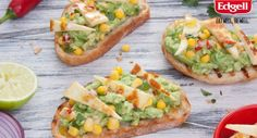 A tasty twist on bruschetta by @fussfreecooking. Devour immediately.