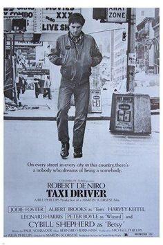 5 Robert De Niro and Martin Scorsese Classic Movies: 'Taxi Driver' – 1976 Cybill Shepherd, Jodie Foster, Martin Scorsese, Films Cinema, Cinema Posters, Movie Posters, Cinema Cinema, Taxi Driver 1976, Driver Film