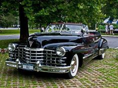 Classic Black Cadillac Series 62 Convertible (19 Pictures)   See more about Black.