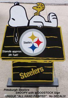 Pittsburgh STEELERS  Snoopy