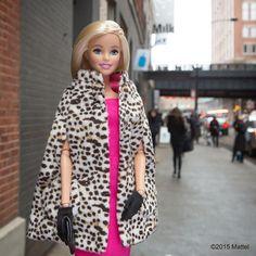 33.3 тыс. отметок «Нравится», 340 комментариев — Barbie® (@barbiestyle) в Instagram: «Snapped for #streetstyle outside @Milk Studios! #madefw #nyfw #barbie #barbiestyle»