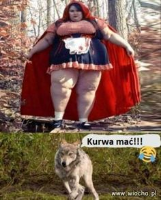 An image tagged red riding hood,scary,memes Funny Short Videos, Funny Animal Videos, Funny Animal Pictures, Best Funny Pictures, Funny Images, Funny Animals, Really Funny Memes, Stupid Funny Memes, Funny Relatable Memes