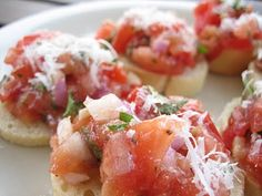 I will never turn down bruschetta. Super-easy app to make, and it's a guaranteed crowd pleaser. You can't lose.