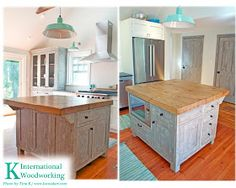 cape cod country rustic style reclaimed wood kitchen