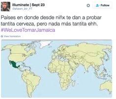 Borrachitos desde chiquitos.   17 Mapas honestos que explican cómo somos en…