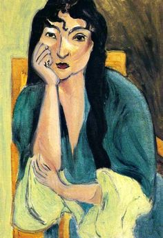 Henri Matisse. Laurette in Green (1917).