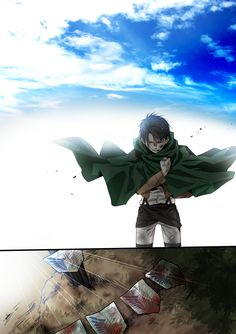 SnK AoT Shingeki no Kyojin Attack on Titan- Captain Levi. Armin, Levi X Eren, Mikasa, Levi Manga, Manga Anime, Attack On Titan Fanart, Attack On Titan Anime, Ereri, Levihan