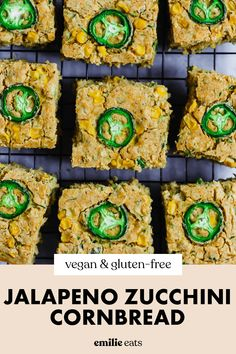 Sneak in some extra veggies with this Jalapeno Zucchini Cornbread! It's the perfect vegan jalapeno cornbread to spice up your summer cookout spread. Vegan Party Food, Easy Party Food, Zucchini Cornbread, Jalapeno Cornbread, Milk And Vinegar, Side Dish Recipes, Side Dishes, Vegan Bread, Unsweetened Applesauce