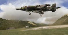 Hawker Siddeley Harrier GR3 aviones
