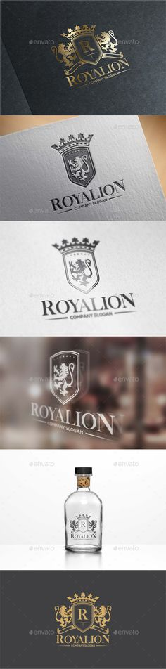 Royal Lion Logo Template #design #logotype Download: http://graphicriver.net/item/royal-lion-logo/13081404?ref=ksioks