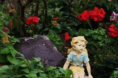 Garden, Fairy, Summer, Fantasy