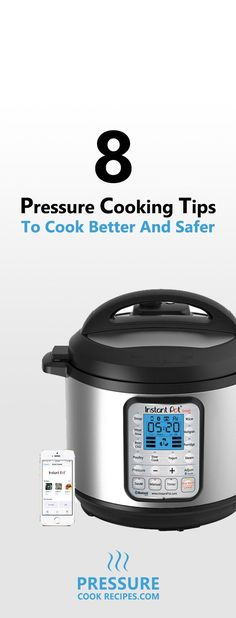 We LOVE pressure cooking as it makes amazing food fast. Here are 8 Useful Tips…