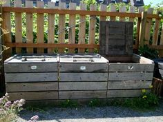 Compost (could build out of pallets)