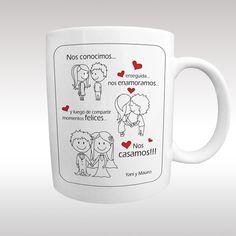 Solas o combinadas con un delicado posavasos, estas tazas son especiales para aniversarios, para el día de San Valentín o simplemente para r...