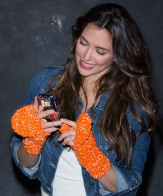 Best Free Crochet » Free Flip Top Mittens Crochet Pattern from RedHeart.com