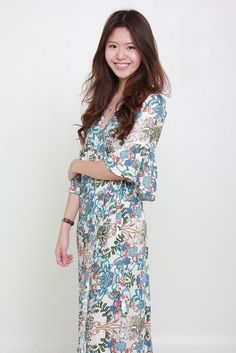 ANNAIS FLORAL MAXI by Indikah available from www.bellablizz.com