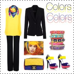 """Colorful"" by simona-mari on Polyvore"