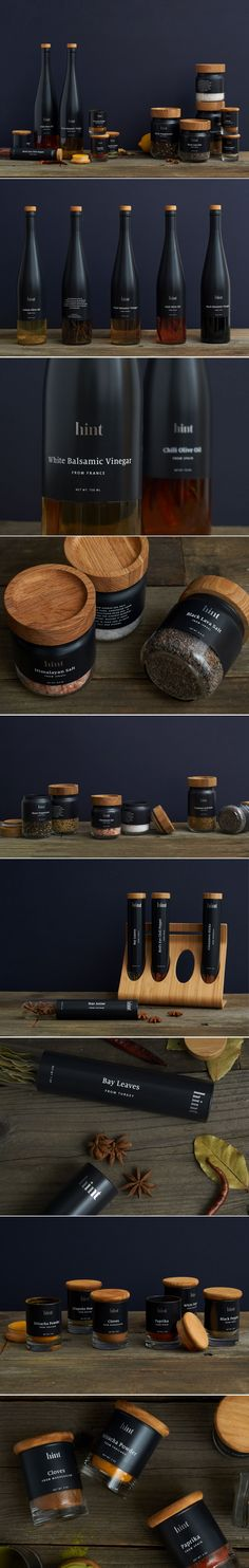 Hint Gourmet Food Package Design by Mark John Mangayayam | Fivestar Branding Agency – Design and Branding Agency & Curated Inspiration Gallery  #gourmet #spices #foodpackaging #packaging #packagedesign #packaginginspiration #design #behance #pinterest #dribbble #fivestarbranding