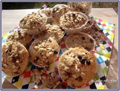 Lecker mit Geri: Müsli-Birnen-Muffins - Мъфини с круши и мюсли
