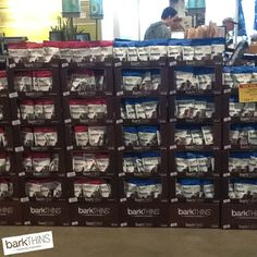 Way to go @wholefoods in Raleigh, NC for showing some #barkTHINS love! #SPOTTED #snackingchocolate #nongmo #fairtrade