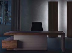 Descarga el catálogo y solicita al fabricante Jera | escritorio de oficina con estantes By las mobili, escritorio de oficina ejecutivo de esquina con estantes, Colección jera