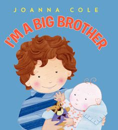 """I'm a Big Brother by  Joanna Cole: 'Someone new is at our house,"""" begins this loving, reassuring look at brotherhood from trusted author Joanna Cole. Told through the eyes of a new older brother, this simple story lays out all the good things about being an older sibling, and reminds new brothers that they are just as special as ever...' #Books #Kids"""