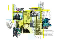 Fashion Portfolio Layout, Fashion Design Sketchbook, Fashion Sketches, Portfolio Design, Sketchbook Layout, Textiles Sketchbook, Sketchbook Inspiration, Fashion Illustration Collage, Fashion Collage