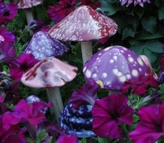 ceramic mushroom - Google Search