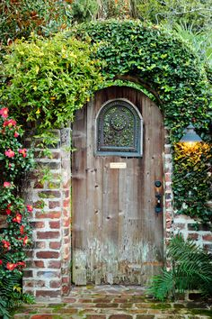Old wooden door, Charleston, SC © Doug Hickok All Rights Reserved