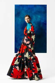 Pre Fall 2016 - Floral Abstraction - DELPOZO