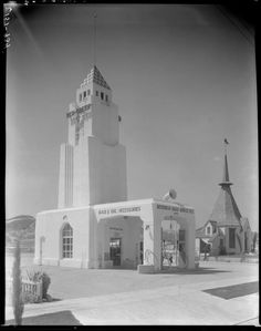 Gilmore Gas Station on Ventura Blvd., Van Nuys, California