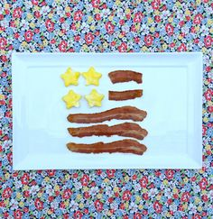 Jac o' lyn Murphy: Star Spangled and Scrambled Banners - Independence Day Breakfast