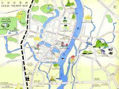 guilin tour map www.westchinago.com info@westchinago.com