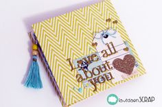 "la vida en scrap: Mini álbum ""Love all about you"""