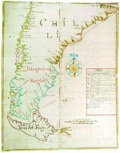 Mapas históricos de Chile - WikicharliE