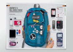 Back to College Catalog by Aaron Melander, via Behance