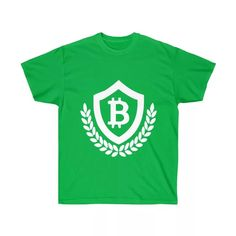 Bitcoin T-Shirts - Crypto Shopper - Wearable Bitcoin Merchandise Tshirts Online, How To Find Out, Cool Designs, Shirt Designs, Unisex, Mens Tops, Cotton, T Shirt, Collection