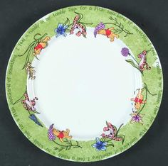 Disney Poohtanicals Dinner Plate